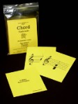 MAJOR CHORD Flashcards