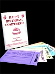HAPPY BIRTHDAY, COMPOSERS! CALENDAR