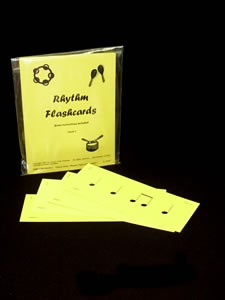 RHYTHM STRIP FLASHCARDS - Level 1