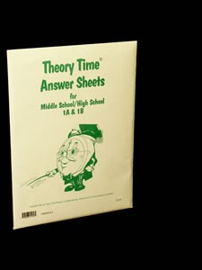 Answer Sheets for Middle School / High School 1A & 1B