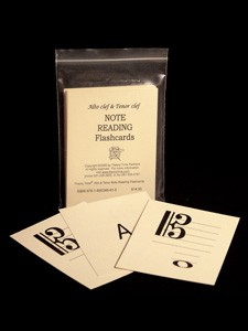 ALTO CLEF & TENOR CLEF NOTE READING Flashcards