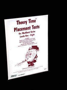 Music theory placement tests