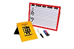E-Z Magnetic Board w/ Piano/Staff/Ledger Lines