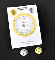 Key Awareness 12-sided Major/minor Dice